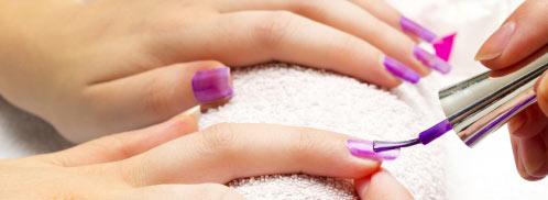 Jewel nail.